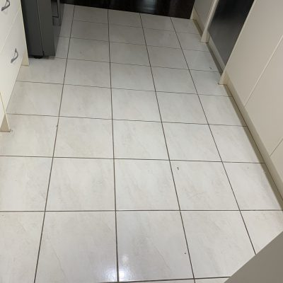 Tile & Grout Cleaning - Before