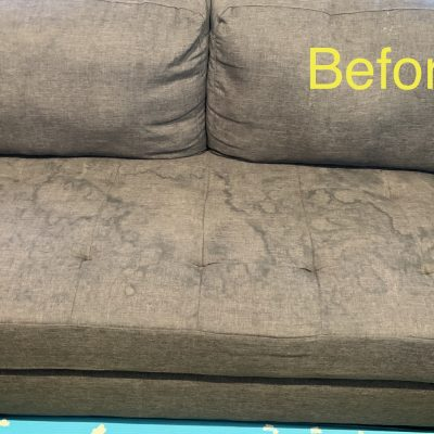 Upholstery & Mattress Cleaning - Before
