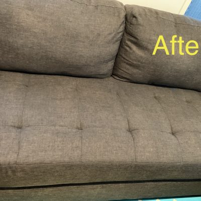 Upholstery & Mattress Cleaning - After