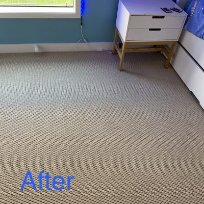 Carpet Steam Cleaning - After